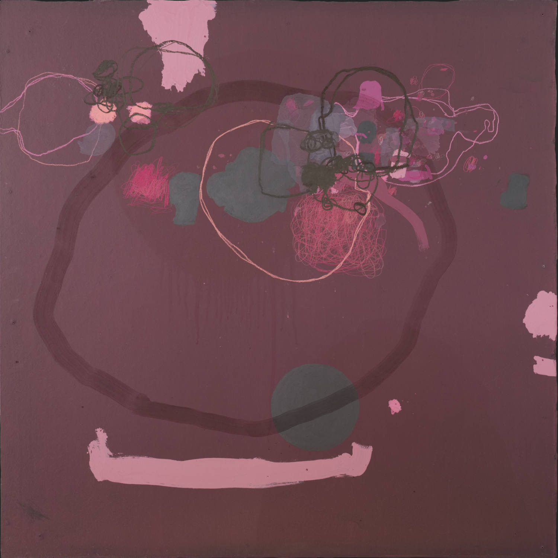 Kim Pieters: the painting 'principium individuationis' from the 'erotic anamnesis' series