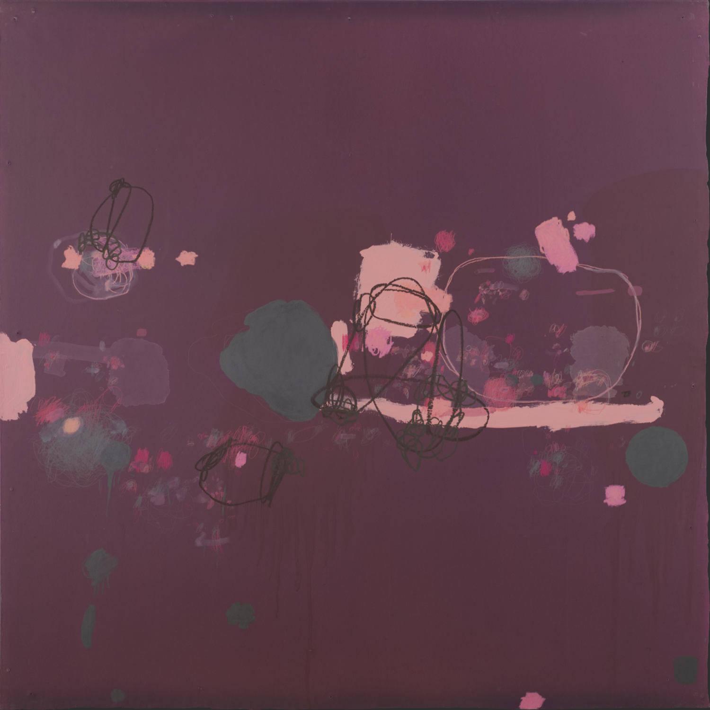 Kim Pieters: the painting 'matheme' from 'erotic anamnesis' suite